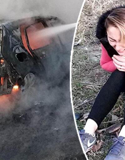 Benzin döküp yaktı, videosunu gönderdi... Görünce gözyaşlarını tutamadı