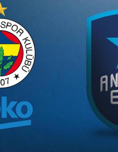 Fenerbahçe Anadolu Efes basketbol maçı ne zaman, saat kaçta, hangi kanalda?