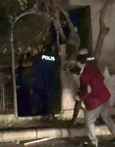 Polise silah çeken şüpheli vuruldu