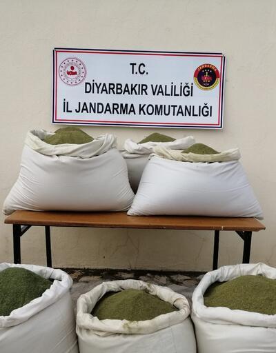 Diyarbakır'da 364 kilo esrar yakalandı