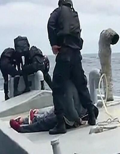 2 ton uyuşturucu taşıyan denizaltı yakalandı