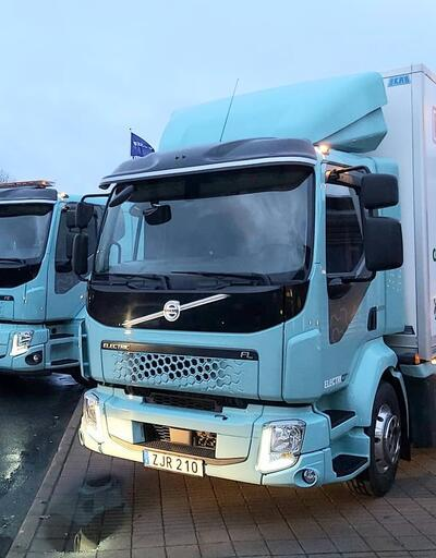 "Volvo ""ağır kamyona""da elektrik verdi"