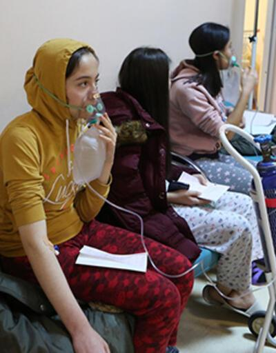 Çorum'da karbonmonoksit gazından zehirlenen 103 öğrenciden 8'i taburcu edildi