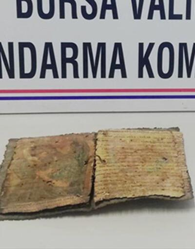 Bursa'da 1000 yıllık iki İncil ele geçirildi