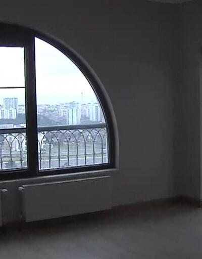 CNNTÜRK ekibi '100 bin konut projesi'nin örnek dairesini görüntüledi!