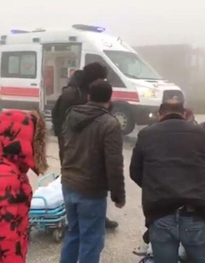 Yoğun sis kazaya neden oldu! Tüm müdahalelere rağmen kurtarılamadı