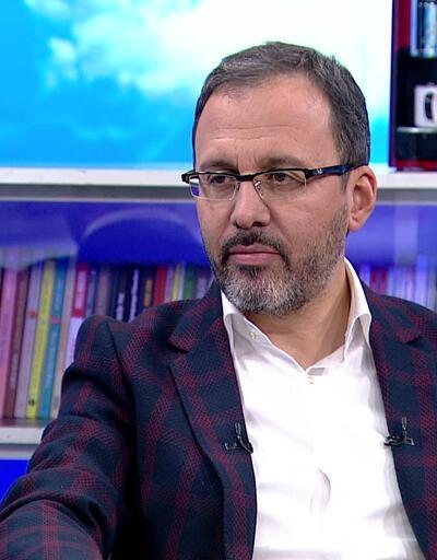 Gençlik ve Spor Bakanı Kasapoğlu'ndan önemli açıklamalar