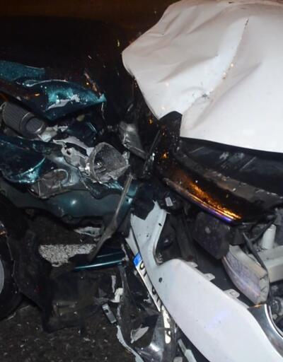 Tutanak tutan sürücülere çarptı