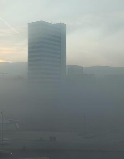 Bursa'da sis etkili oluyor