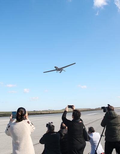 KKTC'den kalkan İHA Doğu Akdeniz'deki ilk görev uçuşuna başladı