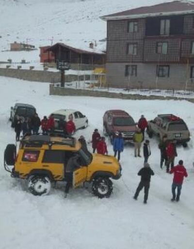 Ovit Dağı'nda off-road etkinliği