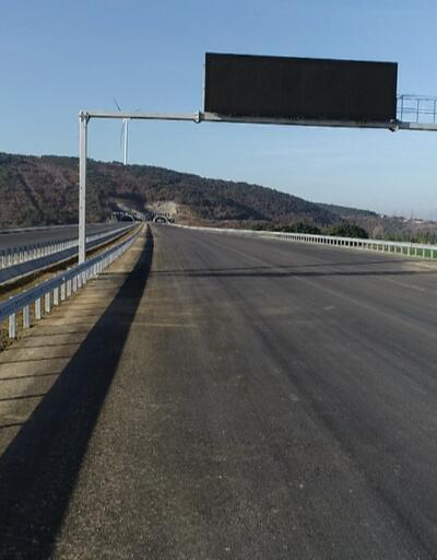 Kuzey Marmara Otoyolu bitiyor