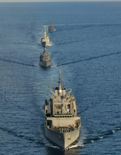 Deniz kuvvetleri doğu Akdeniz'de