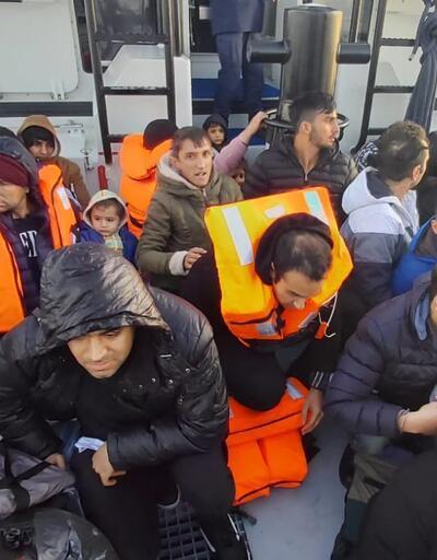 36 kaçak göçmen Enez açıklarında yakalandı
