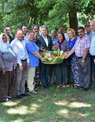 Bornova'da doğal tarım dönemi başladı