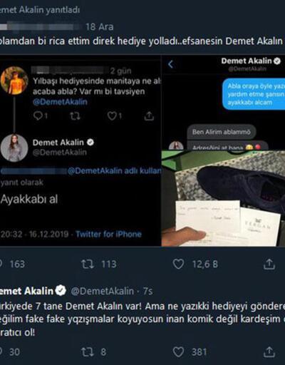 Demet Akalın'dan tepki: Komik değil kardeşim