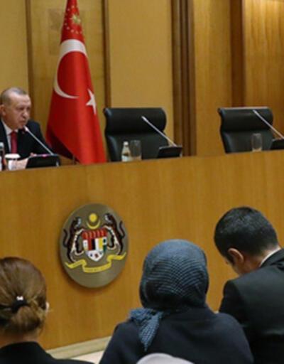 Son dakika: Cumhurbaşkanı Erdoğan'dan, Malezya'da önemli açıklamalar