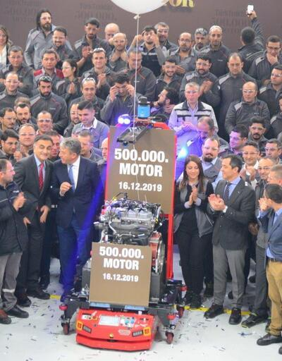 500 bin motor üretti