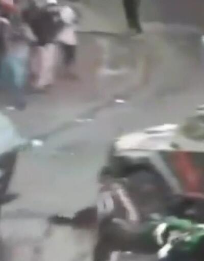 Protestocu, iki TOMA'nın arasında ezilerek ağır yaralandı