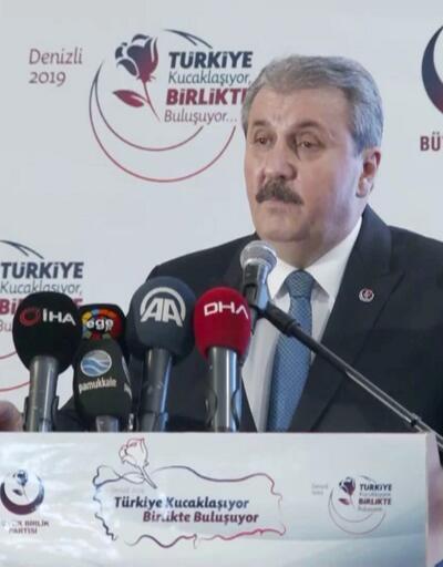 Destici'den CHP ve İYİ Parti'ye çağrı