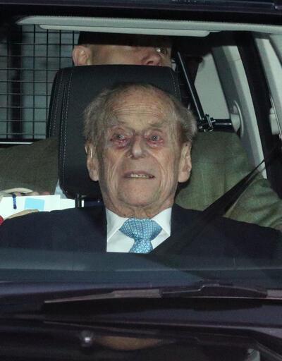 98 yaşındaki Prens Philip, taburcu edildi
