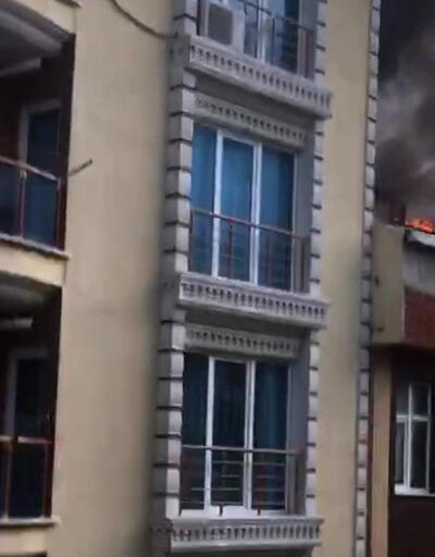 Ev sahibine kızıp evi yaktı