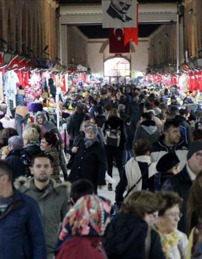 Edirne'de 'Noel tatili' yoğunluğu