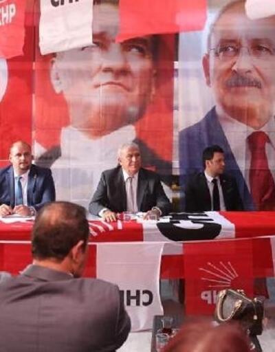 CHP Köşk'te Mehmet Güldenk ile 'devam' dedi