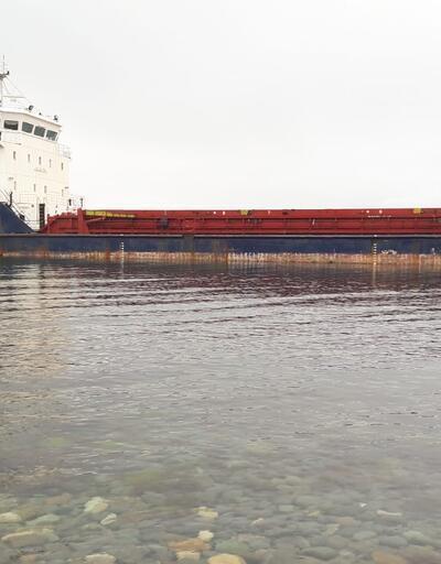 Rus gemisi Marmara'da karaya oturdu