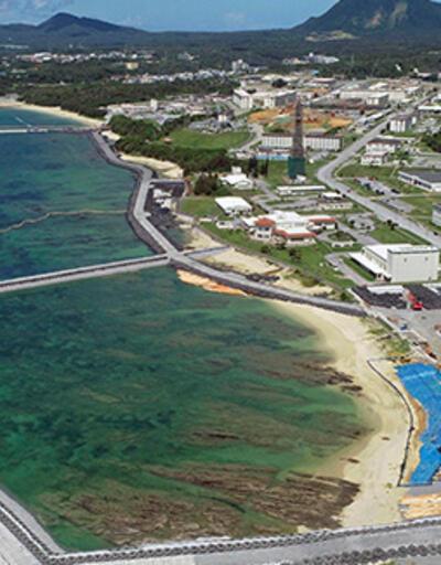 Maliyeti tahminlerin iki katı! Okinawa Adası'ndaki üs, 12 yılda tamamlanacak