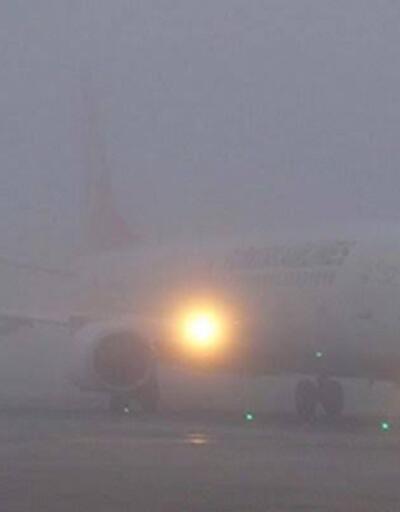 Gaziantep'te sis nedeniyle uçak seferleri iptal edildi