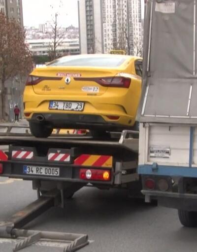 İstanbul'da taksi denetimi