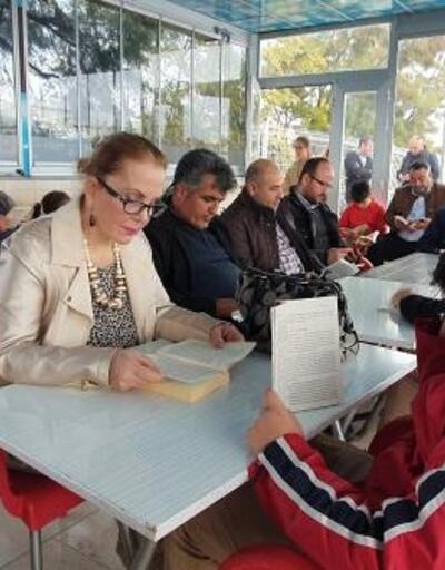 Silifke'de 'Velimle Okuyorum' etkinliği