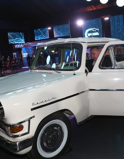 Yerli otomobil tanıtımında Devrim'i görenler duygulandı