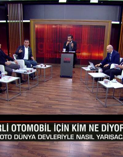 Yerli otomobil için kim ne dedi? TOGG'un yurt dışında şansı varmı? Kanal İstanbul'un avantajları ve riskleri nedir? Gündem Özel'de tartışıldı