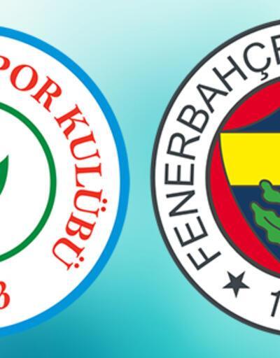 Çaykur Rizespor Fenerbahçe maçı saat kaçta? Rize - FB maçı ne zaman?