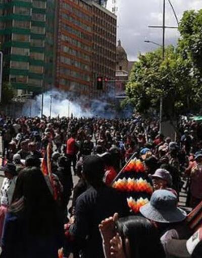 Bolivya'daki protestolarla ilgili bomba iddia!