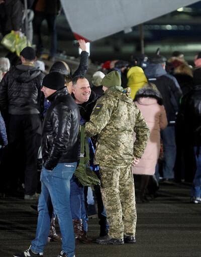 Rusya ve Ukrayna arasında esir değişimi! Böyle getirildiler!