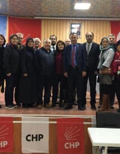 CHP Simav'da Hasan Koç ile 'devam' dedi