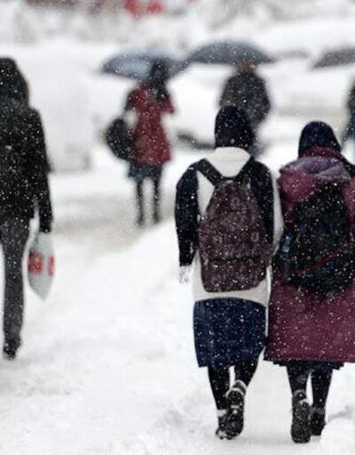 Son dakika... Eskişehir'in iki ilçesinde okullara kar tatili