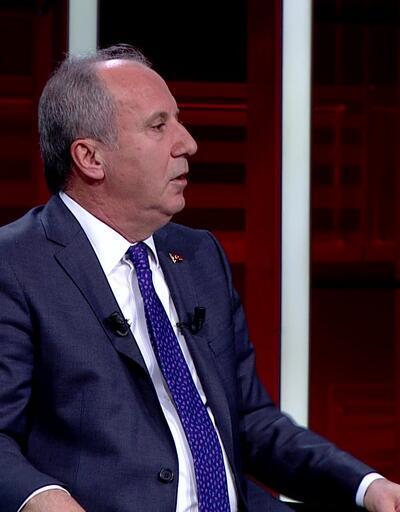 Muharrem İnce, CNN TÜRK'te açıklamalarda bulundu
