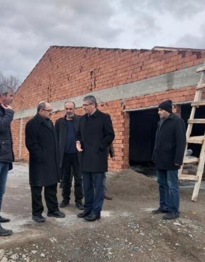 DAP Başkanı Demir, Suşehri'nde incelemelerde bulundu