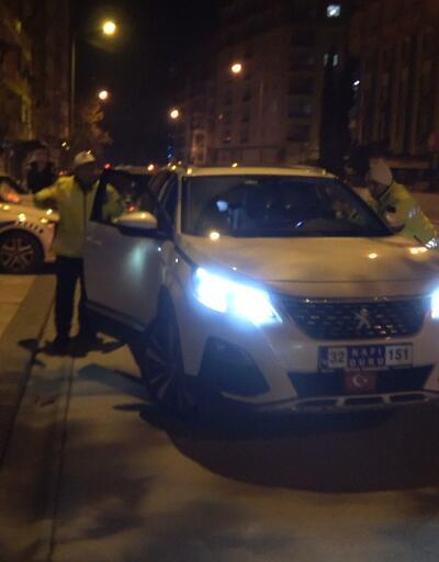 Alkollü araç kullanırken yakalandı 'Ben Türk delikanlısıyım' dedi