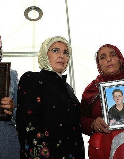 Emine Erdoğan: Annelerin duruşunda cesareti gördüm