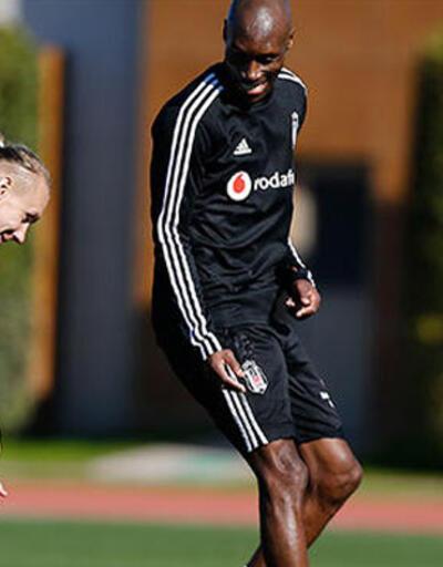 Beşiktaş'ta Domagoj Vida kampa katıldı