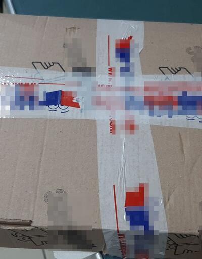 Kargo paketinde görevlileri şoke eden adres yazısı