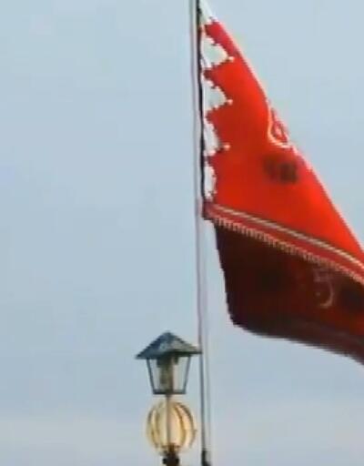 'İntikam bayrağı' göndere çekildi!