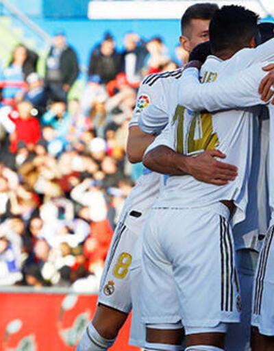 Real Madrid, Getafe'yi farklı yendi