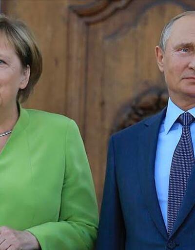 Merkel ve Putin, Orta Doğu'yu görüştü