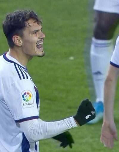 Enes Ünal attığı gollerle İspanya'yı salladı